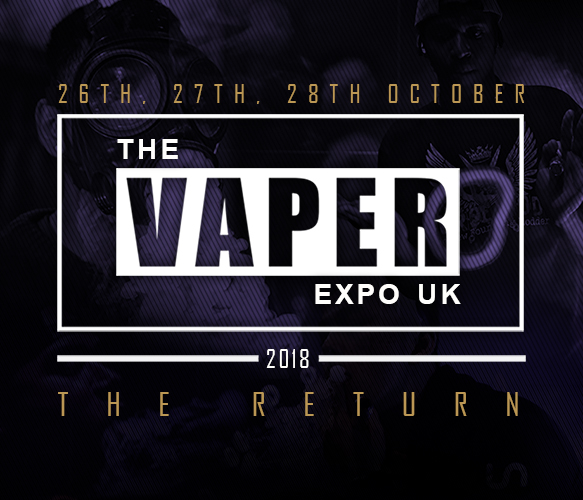 The Vaper Expo UK Returns